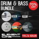 [DTMニュース]Element One「Drum & Bass Bundle」ドラムンベース系おすすめサンプルパック!