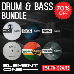 element-one-drum-bass-bundle