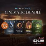 [DTMニュース]Ghosthackのシネマティックバンドル「Ultimate Cinematic Bundle Vol. 2」が91%off!