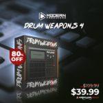 [DTMニュース]Modern Producersのヒップホップドラムプラグイン「Drum Weapons 4」が80%off!