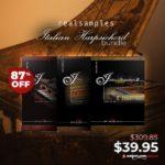[DTMニュース]REALSAMPLESのイタリアのハープシコードバンドル「Italian Harpsichord Bundle」が87%off!