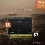 [DTMニュース]Rigid Audioのシネマティックサウンドスケープライブラリ「Perception」が88%off!