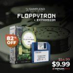 [DTMニュース]SAMPLESOのフロッピードライブをフィーチャーしたライブラリ「Floppytron」が82%off!