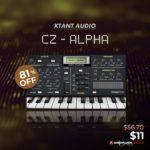 [DTMニュース]Xtant AudioのカシオCZで作られたパッチが収録されたライブラリ「CZ-Alpha」が81%off!