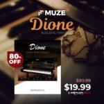 [DTMニュース]MuzeのスタインウェイD-274をベースにした「Dione Acoustic Piano」が80%off!