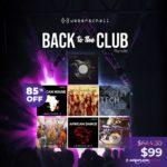 [DTMニュース]UEBERSCHALLの7種のサンプル「Back to The Club Bundle」が85%off!