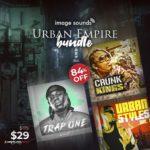 [DTMニュース]Image Soundsの3つのライブラリ「Urban Empire Bundle」が84%off!