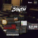 [DTMニュース]ZamplerSoundsの7つのインストゥルメントライブラリ「Synth Bundle」が80%off!