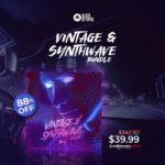 [DTMニュース]Black Octopusのサンプルパックバンドル「Vintage & Synthwave Bundle」が88%off!