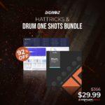[DTMニュース]Diginoizのドラムバンドル「Hattricks + Drum One Shots Bundle」が92%off!