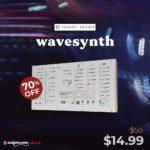 [DTMニュース]Karanyi Soundsのウェーブシェイパーインストゥルメント「WAVESYNTH」が70%off!