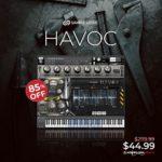 [DTMニュース]Sample Logicのシネマティックパーカッシブスイート「HAVOC」が85%off!