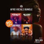 [DTMニュース]Dreadstar Vocalsの4つのボーカルサンプルパック「Afro Vocals Bundle」が90%off!